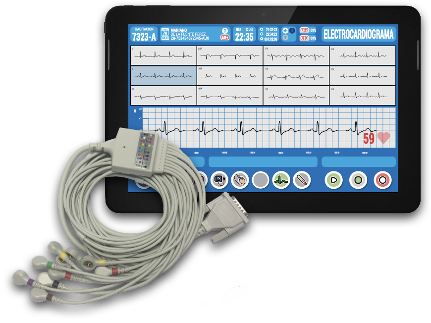 tablet-ecg-cable